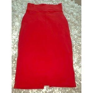 Your Favorite Red Pencil Skirt